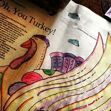 Photos: Oh, You Turkey coloring contest