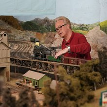 Model railroad club rolls to a stop at the Trolley Museum