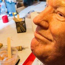 This Man Makes Terrifyingly Realistic Donald Trump Masks