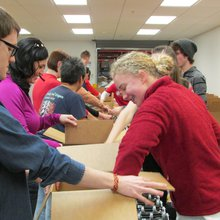 Martin Luther King Jr. Day of Service Brings Dozens of Volunteers to Utah Food Bank