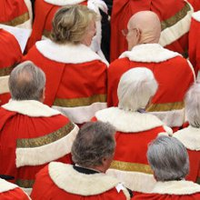 The House of Lords - a bastion of cronyism, fat cheque books and political favours