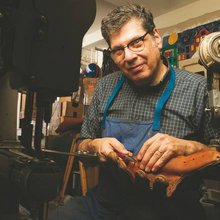 The Glove Doctor: He has a passion for resuscitating old baseball mitts