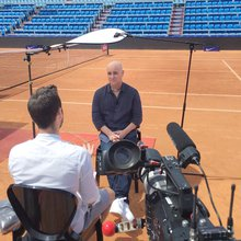 Andre Agassi: Prospect of retiring 'is like preparing for death'