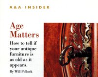 """Age Matters"" for Art & Antiques magazine"