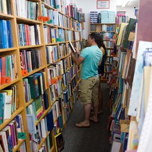 Step inside a Los Angeles bookstore that takes on Iran's censors