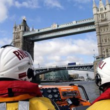 London lifeboat station busiest in UK - rescuing more than one person a day from the Thames