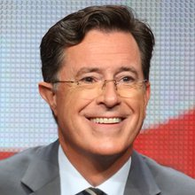 Stephen Colbert wore a Black Lives Matter bracelet on the 'Late Show'