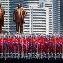 North Korea rebukes U.S. as Navy strike group advances