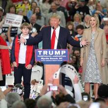 South Carolina is a family affair for Trump