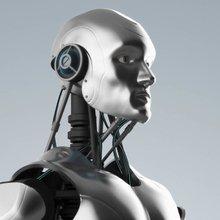 Noch Mensch, bald Maschine