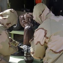 Examining a Rare Nerve-Agent Shell That Wounded American Troops in Iraq