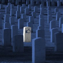 I wrote a terrible eulogy because I'm a terrible friend-and it's all Facebook's fault.