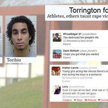 Victim bullied after rape allegations against Torrington football players