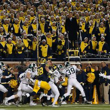 Botched Punt in Final Seconds Leaves Wolverines Stunned