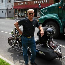 Virginia man on motorcycle visiting all 25 Winchesters in the United States