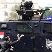 Five years after Egypt uprising, police -- not activists -- celebrated