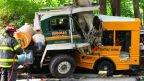 Cops: 1 killed, 6 hurt as cement truck, school bus collide