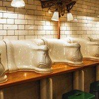 London's dash to 'toilet restaurants'