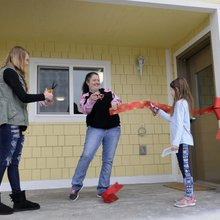 Habitat for Humanity volunteer gets his own home