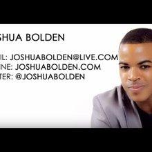 JoshuaBolden.com | Resume Reel