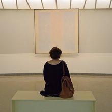 Agnes Martin Retrospective at the Guggenheim Museum