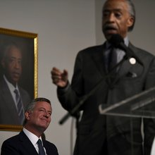 Sharpton Distances from De Blasio, Says Reelection Support Not a Given