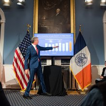 De Blasio Increases Spending and Savings in $84.86 Billion Executive Budget