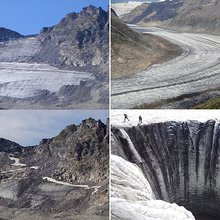 Almost all Alpine glaciers could DISAPPEAR by 2100