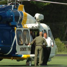 Christie Faces Criticism For Police Helicopter Ride To Son's Ballgame