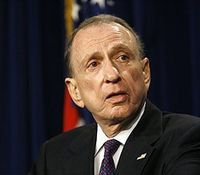Arlen Specter laid to rest, remembered as fighter.