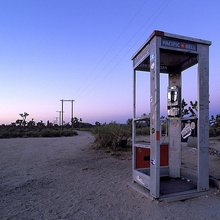 The legendary Mojave Phone Booth is back