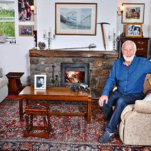 My haven: Chris Bonnington in his Victorian cottage in Cumbria
