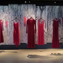 Haunting Red Dresses Mark MMIW Day Of Remembrance