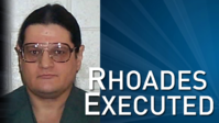 Rhoades addresses the victims' families, his mother, and executioners in final statement