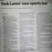 Shopsy's sports bar