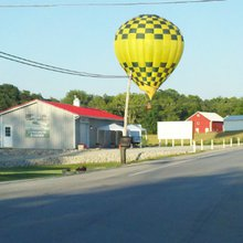 Hot air balloon hits power lines just after bride-to-be accepts proposal