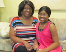 Baby's good deed gives life to teenage girl