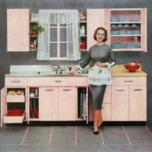 This study proves that advertisers show women in the kitchen and men at sporting events