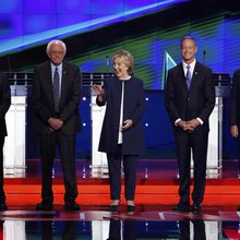 At First Debate Democrats Clash (Gently) Over Who Can Be The Most Pragmatic Progressive - The Nat...