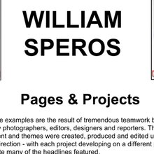 William Speros Visual Design Portfolio