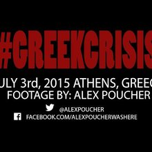 Athens, Greece - Clashes in front of Parliament
