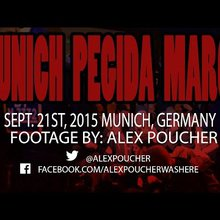 Munich, Germany - Pegida March Met With Resistance