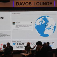 Davos Gets Social