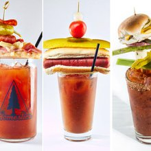Chicago's most over-the-top bloody mary garnishes