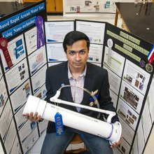 Richardson High student lauded for devising quick, cheap way to filter arsenic from water
