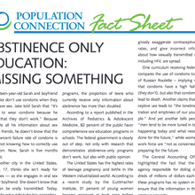 Abstinence-Only Education: Missing Something
