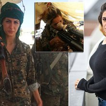 Danish student Joanna Palani reveals she was 'sniper' in Syria