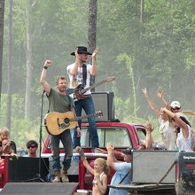 Muddy Dierks Bentley shoots music video in Effingham County