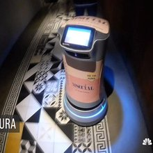 Rather than a hotel bellhop, a robot will deliver that late-night drink or missing toiletry