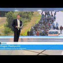 Denmark closes border to migrant train